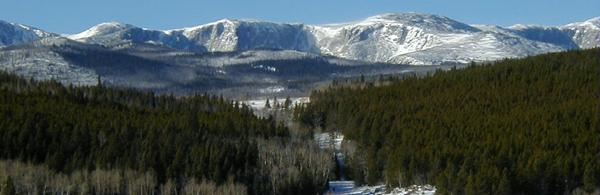 Winter recreation in Wyoming's beautiful Bighorn Mountains
